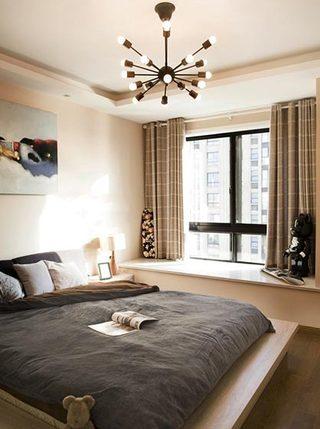 卧室飘窗设计欣赏图