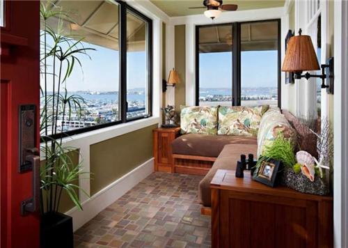 小阳台装修效果图欣赏 教您几招玩转阳台装修