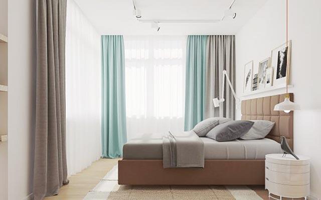 现代风格卧室参考图片