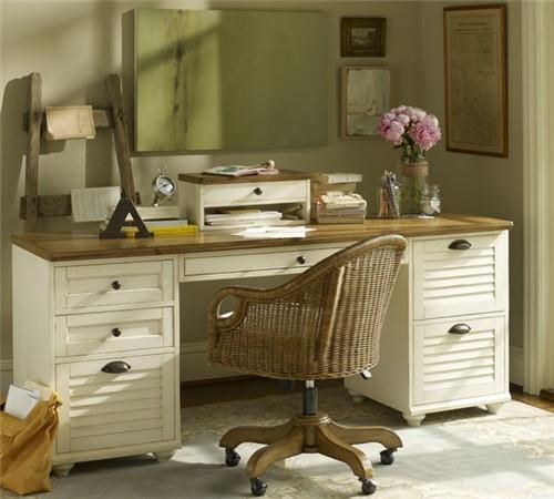 书桌写字台尺寸多少合适 书桌写字台图片赏析