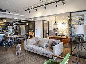 115平混搭风格两居装修图片 浓郁咖啡香氛
