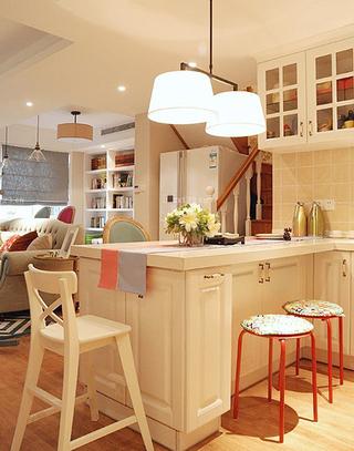 厨房吧台设计效果图大全