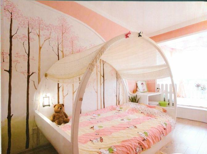 可爱卧室构造图片