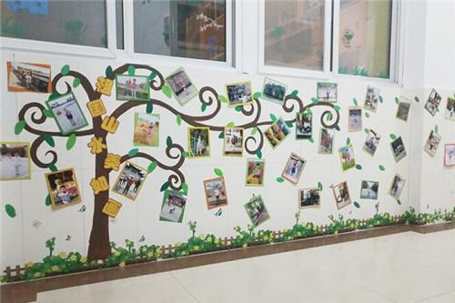 幼儿园照片墙 照片墙让孩子爱上幼儿园