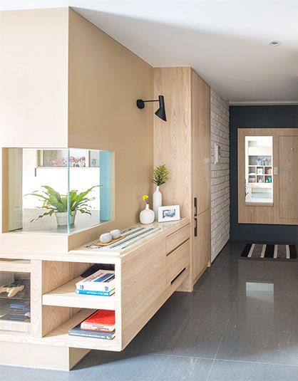 125平北欧三居室门厅效果图