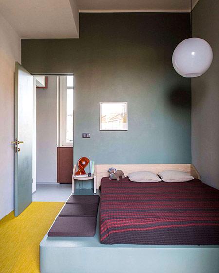 90平小公寓装修卧室效果图装修