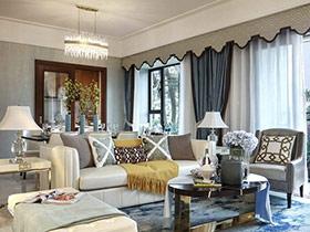 125平法式风格样板房设计 无处不在的优雅