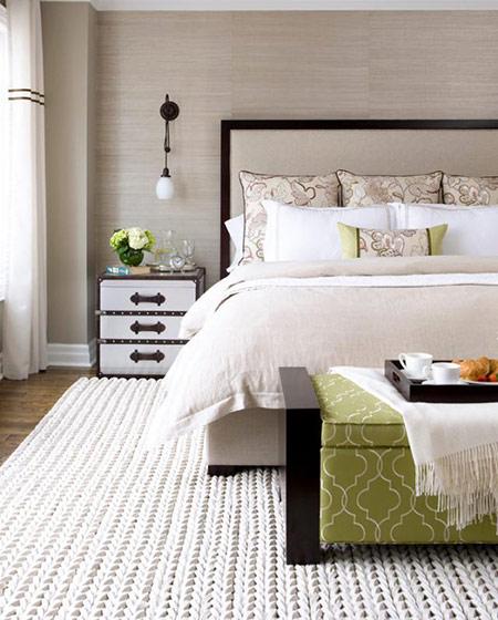 舒适卧室地毯效果图设计