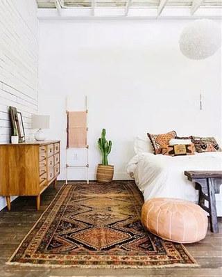 11个卧室地毯效果图 舒适温暖从地面开始11/12