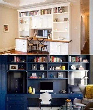 书房设计实景图