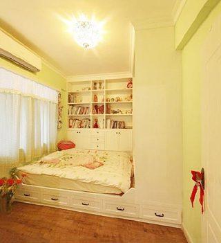 儿童房榻榻米装修装饰图片
