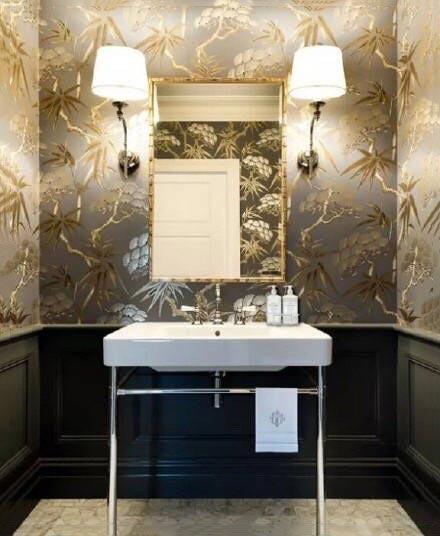 简约欧式卫生间装饰图片