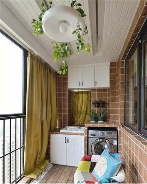 阳台吊顶装修效果图 富有格调的阳台吊顶