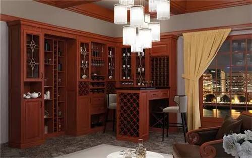 酒柜样式效果图 享受精致典雅生活