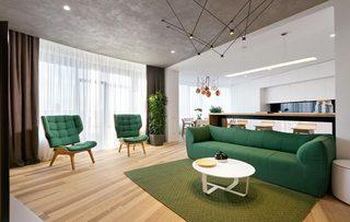 80㎡现代风公寓装修装饰效果图