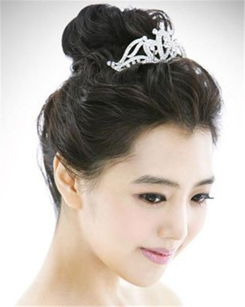 长发新娘发型图片 新娘经典发型设计图片