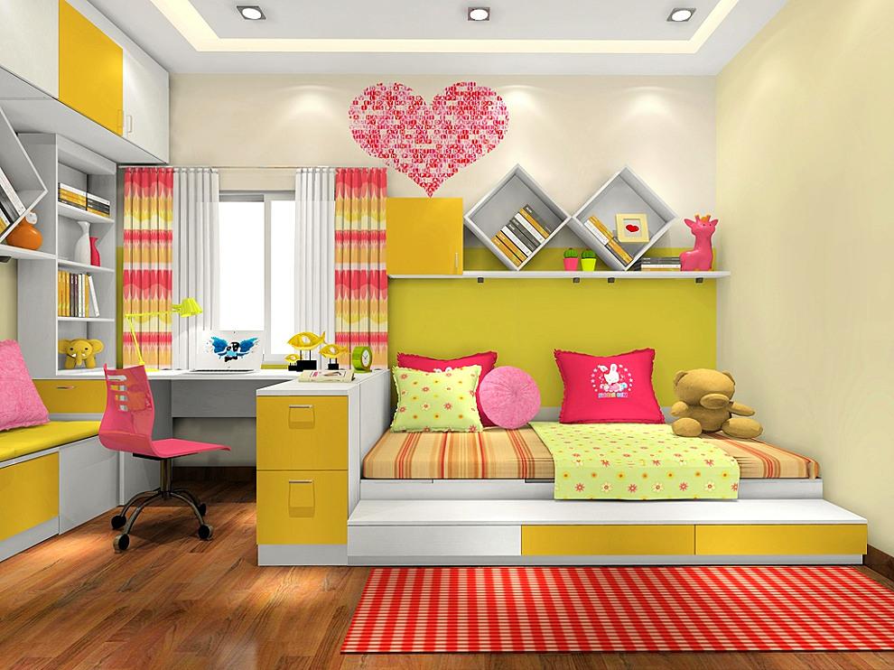 榻榻米儿童房装修效果图 让孩子快乐成长的儿童房