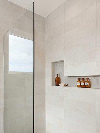 浴室收纳墙装修装饰效果图