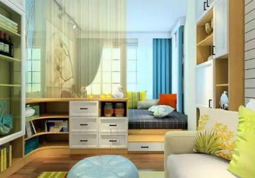 榻榻米床装修效果图 5款小户型卧室榻榻米大比拼