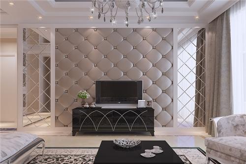 欧式电视背景墙装修效果图大全 2016欧式背景墙设计方案