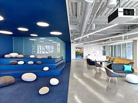 特色现代办公室装修设计效果图