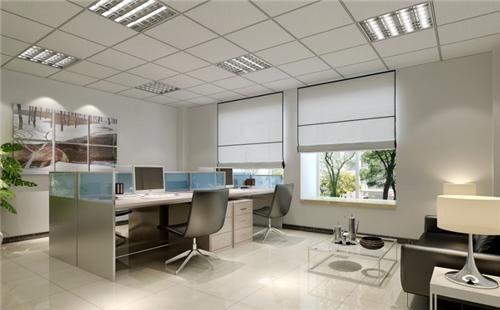办公窗帘效果图 轻松搞定办公室窗帘的选择和搭配