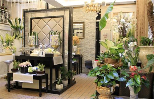 花店装修效果图 充满爱与美的温馨空间图片