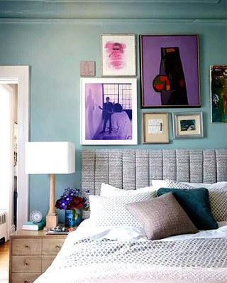 卧室照片墙效果图装修