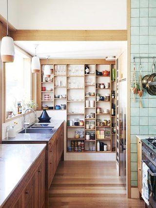 厨房收纳柜欣赏图