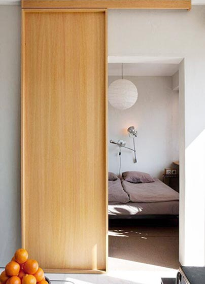 卧室推拉门平面图片
