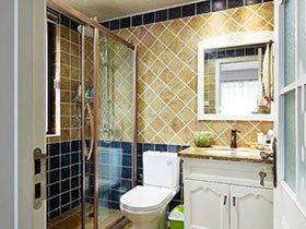 热气时光  10款简约风格浴室装修图片
