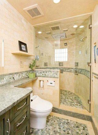 简约风格浴室装修图片