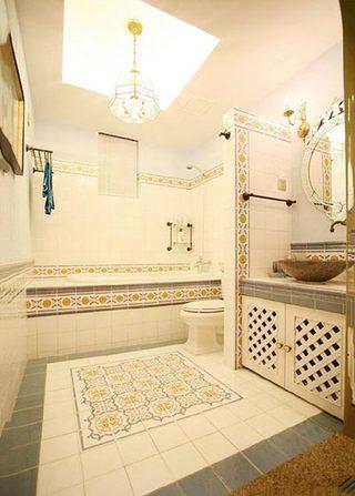 浴室干湿分离装饰图片