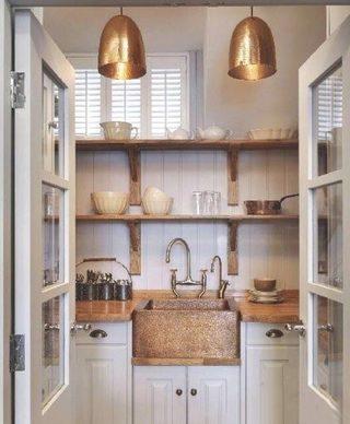 厨房收纳置物架设计布置图