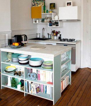 厨房柜收纳布置图