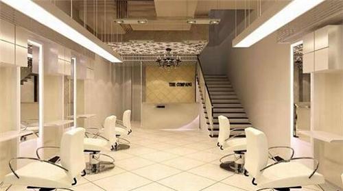 小型理发店装修效果图 小型发廊设计让创业不是梦