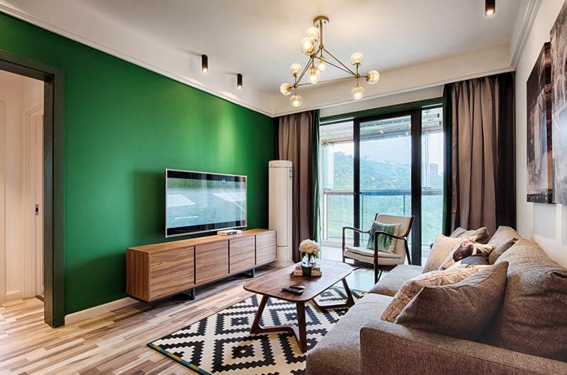 70平北欧风格两室两厅装修设计