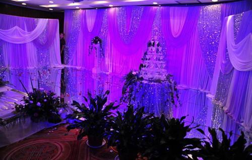 紫色主题婚礼布置方法 紫色主题婚礼布置图片