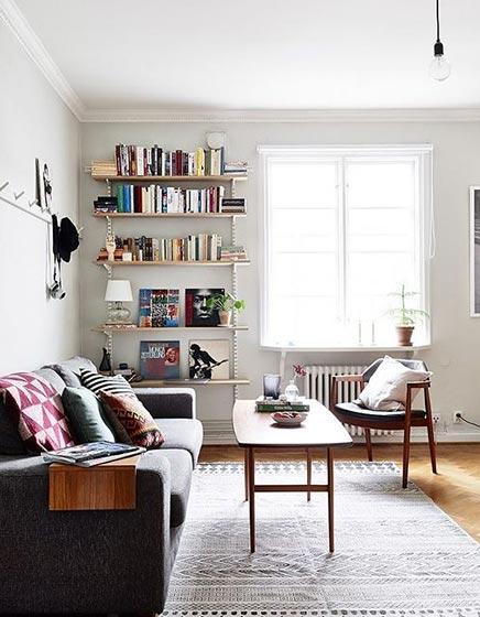 客厅沙发摆放图片