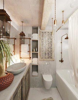 浴室整体设计参考图