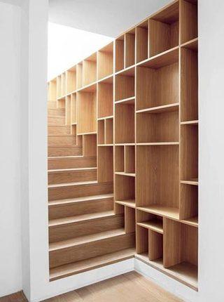 到底能装多少呢  10个楼梯间收纳设计图片9/10