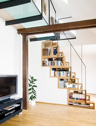 到底能装多少呢  10个楼梯间收纳设计图片10/10