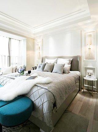 卧室设计实景图片