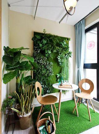 绿植阳台设计图片大全