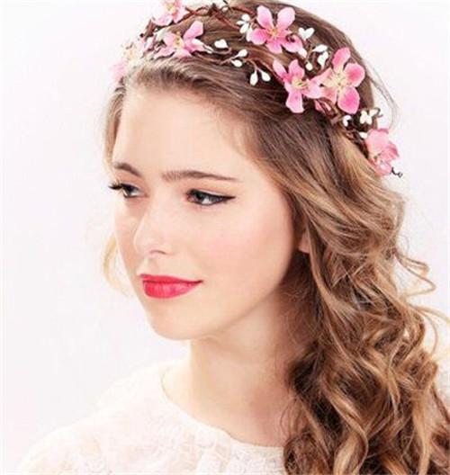欧式新娘发型图片 欧式复古新娘发型大全图片