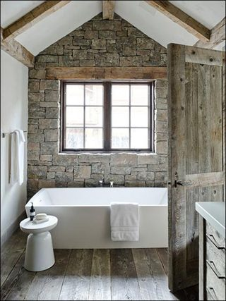 木质浴室设计参考图