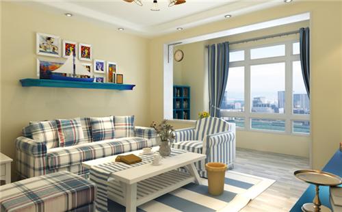 两室一厅小户型装修效果图 65平小两居华丽大变身