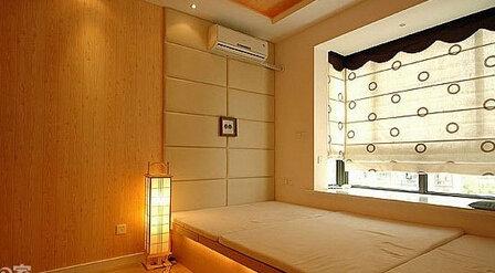 卧室榻榻米,卧室装修,日式风格,8090,青岛卧室榻榻米装修