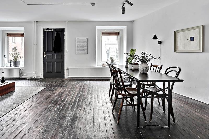72平单身公寓装修餐厅装修图