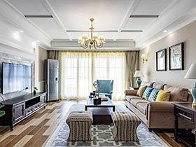 143平美式风格三房两厅装修图 品味生活